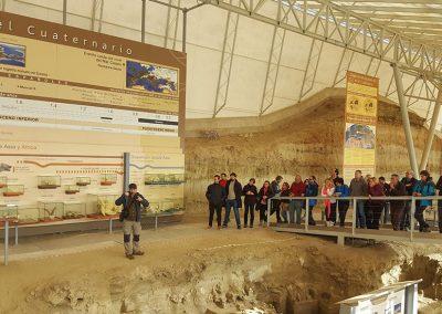 Ruta fósiles del cuaternario