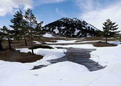 Ruta de minas de alta montaña